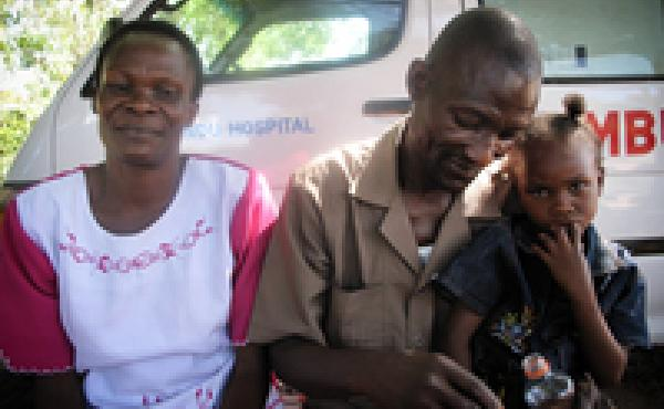 When Benta Odeny was diagnosed with HIV, she started to protect her husband Daniel from the virus by taking antiretroviral medications. The same drugs also helped her give birth to an HIV-negative daughter, Angelia.