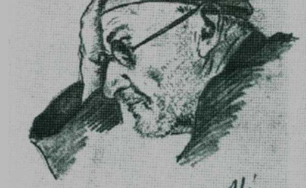 The Nazis imprisoned Czech composer Rudolf Karel (shown here in a sketch from 1945) for helping the resistance in Prague. He wrote his compositions down on toilet paper.