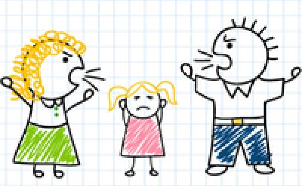 Parents can minimize the negative impact of their arguments on their children using a few simple techniques to calm down.