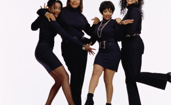 Living Single (1993-1998) featured four young, black, professional women in New York — including Queen Latifah as the ambitious head of a small magazine.