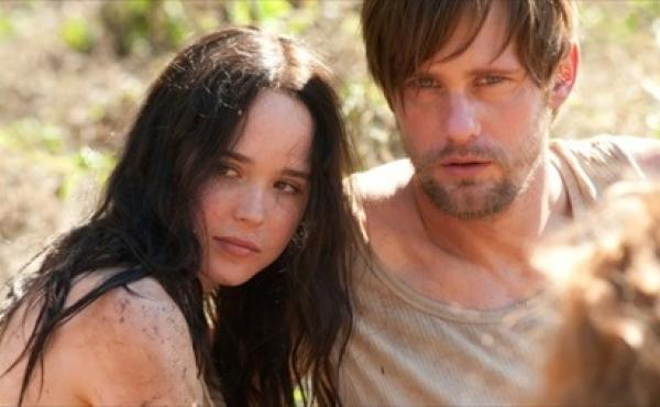 In The East, Ellen Page (left) and Alexander Skarsgard play members of an anarchist eco-terrorist collective.