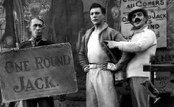 """Carl Brisson stars as sideshow boxer """"One Round Jack"""" in Alfred Hitchcock's 1927 film The Ring. That and eight more of the master's early silent features have restored by the British Film Institute."""