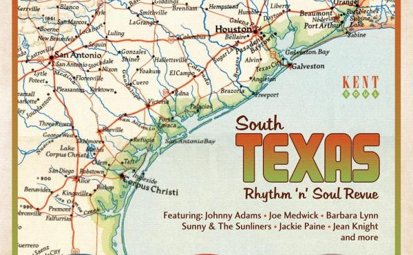 Record producer Huey Meaux wound up in jail twice, but he sure had a knack for finding talent in unlikely places. Some of those songs are included on South Texas Rhythm 'n' Soul Revue.