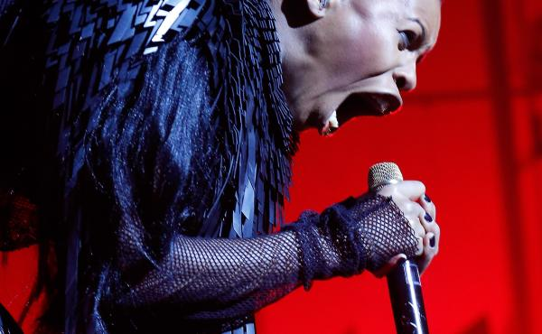 The singer Skin of Skunk Anansie performs at Brixton Academy in London last month. She wrote the foreword to Laina Dawes' What Are You Doing Here?: A Black Woman's Life and Liberation in Heavy Metal.