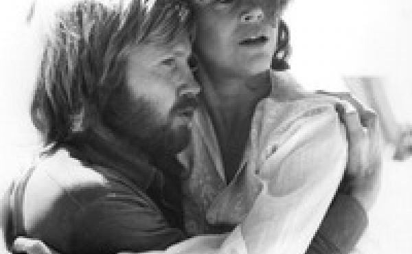 Jon Voight and Jane Fonda in a scene from the Hal Ashby film Coming Home.