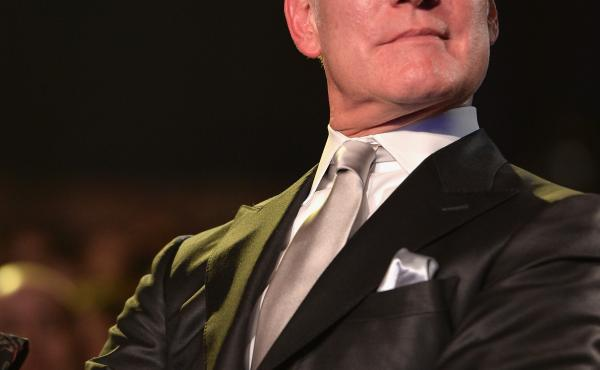 """The term 'vegan leather' makes me think that you peeled a carrot and took the skin and made a jacket out of it,"" says Tim Gunn, pictured above at the Under the Gunn finale fashion show."