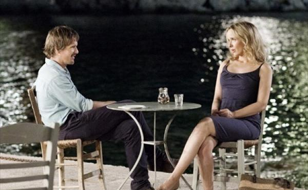 Ethan Hawke and Julie Delpy reprise their roles as Jesse and Celine in Before Midnight, the latest in Richard Linklater's series about a couple's relationship over the years.
