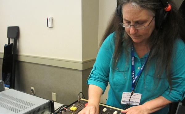 Cookie Marenco records musicians on a small remote recording console live at the California Audio Show in August. She'll demonstrate the quality of DSD to the audience by playing back her recording. How close will it sound to the live performance? Very cl