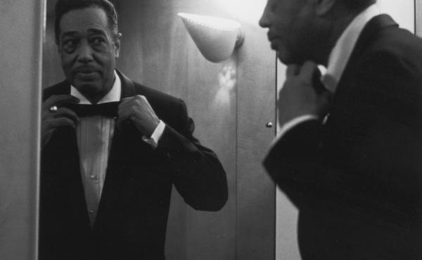 Duke Ellington, looking dapper in 1958.