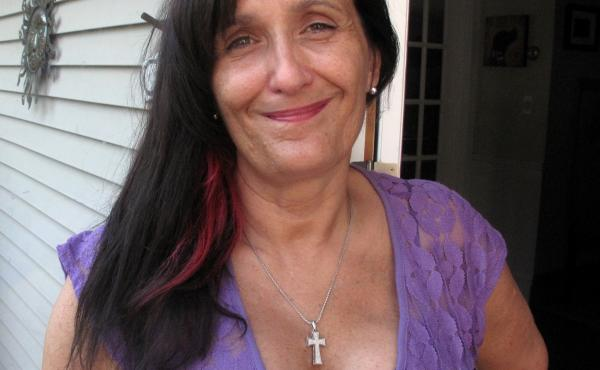 """Sally O'Neill decided to have a double mastectomy rather than """"do a wait-and-see."""""""