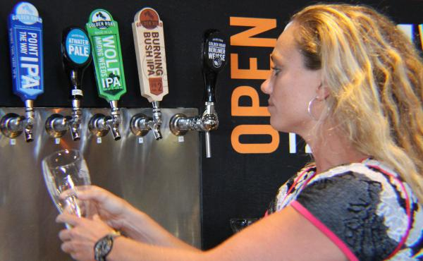 Meg Gill is the president and co-founder of Golden Road Brewing in Los Angeles. Her brewery is favored to win awards at the Great American Beer Festival.