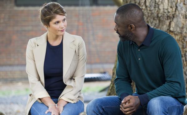 Emily (Gemma Aterton) and Max (Idris Elba) in 100 Streets.