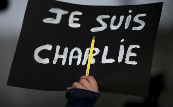 """In the wake of the 2015 attack in Paris, """"Je Suis Charlie"""" became a rallying cry for demonstrators grieving the victims at the controversial French publication Charlie Hebdo. On Wednesday, a French court found 14 individuals guilty of supporting the massa"""