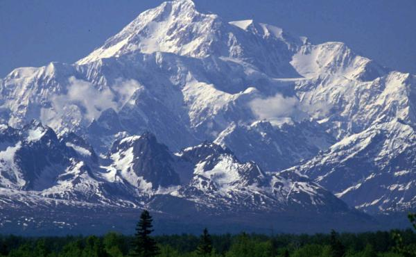President Obama is renaming Alaska's Mount McKinley in an effort to strengthen cooperation between the government and Alaska Native tribes. The peak is returning to its traditional name, Denali.