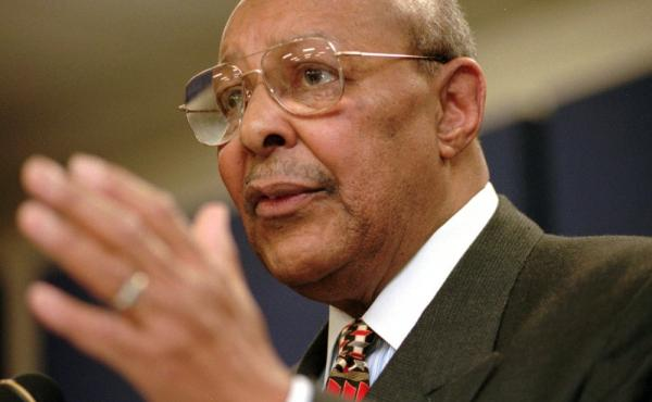 Rep. Louis Stokes was the dean of the Ohio congressional delegation until he stepped down in 1999.