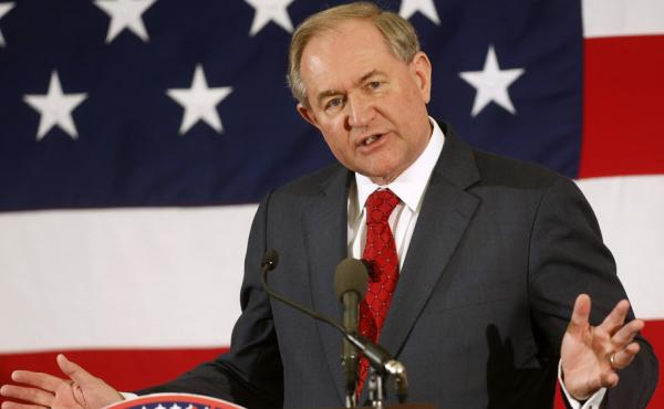 Former Virginia Gov. Jim Gilmore said Wednesday he is running for the GOP nomination for president and will make an official announcement the first week in August.