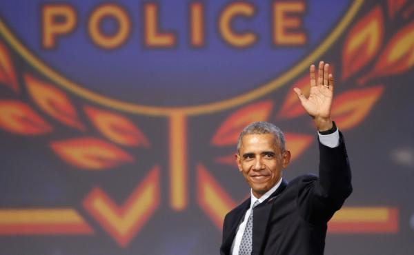 President Obama told the International Association of Chiefs of Police Annual Conference in Chicago Tuesday that police should not be scapegoated for the failures of the justice system.