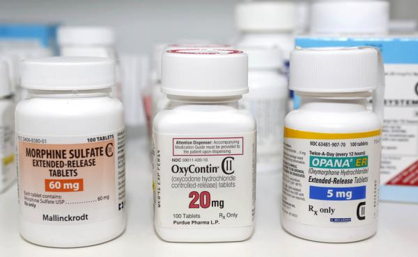 Sales of prescription opioid painkillers have quadrupled since 1999, according to the Centers for Disease Control and Prevention.