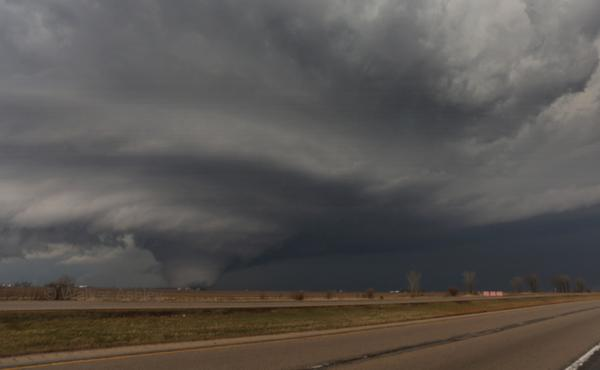 Purdue University students are testing new software that may track and warn about tornadoes, such as this one which struck Rochelle, Ill., in early April.