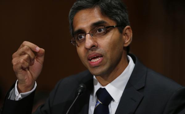 More than a year after he was nominated, Dr. Vivek Murthy was confirmed as the next surgeon general Monday. Back in February, Murthy testified about his nomination before a Senate panel.