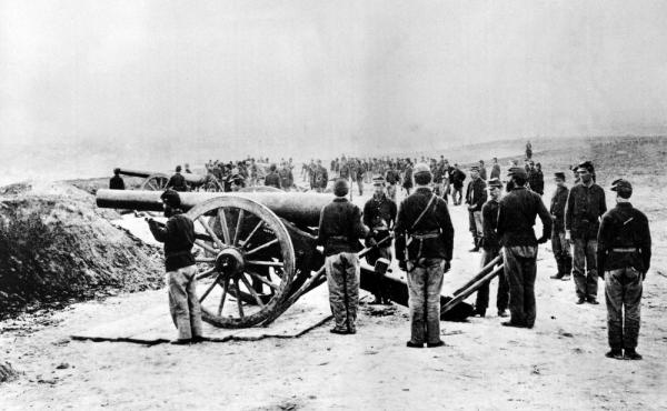 Union soldiers found that gunpowder was sometimes mixed with sawdust.