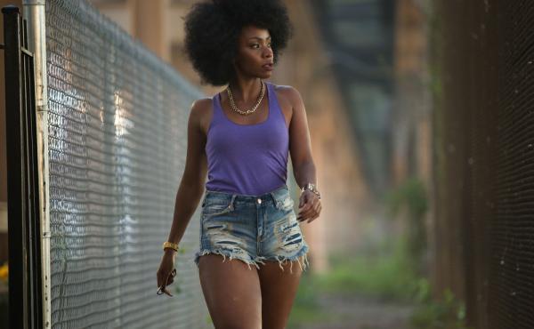 Teyonah Parris plays Lysistrata in Spike Lee's