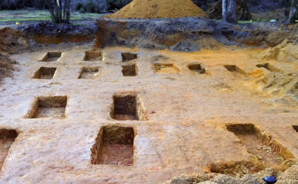 Researchers from the University of South Florida found some of the remains of 55 people in a graveyard at the Dozier School for Boys in Marianna, Fla.