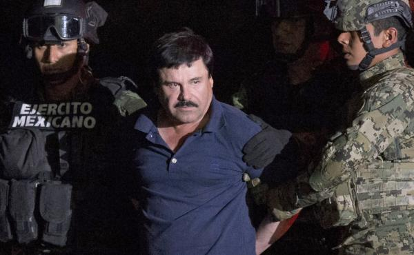 After he was recaptured from breaking out of a maximum security prison in Mexico, Mexican drug lord Joaquin