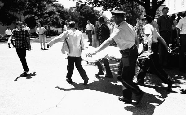 Proponents of a law allowing concealed-carry handguns at Texas state universities say it could prevent incidents similar to the Aug. 1, 1966, University of Texas shootings which left 14 dead. The law went into effect 50 years to the day of the massacre.