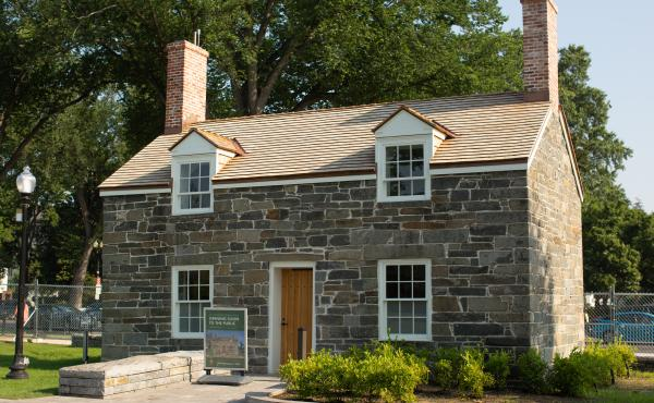 Built in the 1830s, the Lockkeeper's House is the oldest building on the National Mall.