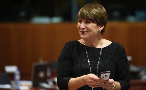"""Lilianne Ploumen is a government minister in the Netherlands. """"I was in a position to do something,"""" she says of her decision to start the """"She Decides"""" initiative."""