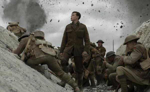 Schofield (George MacKay) gets entrenched in Sam Mendes' 1917.