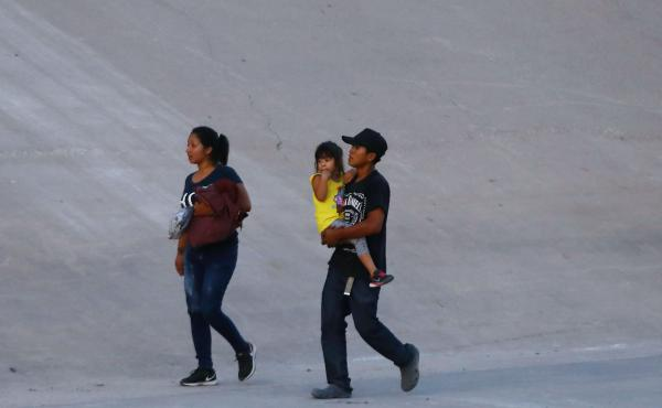 Southern Border Facilities Overwhelmed As Influx Of Migrants Continues