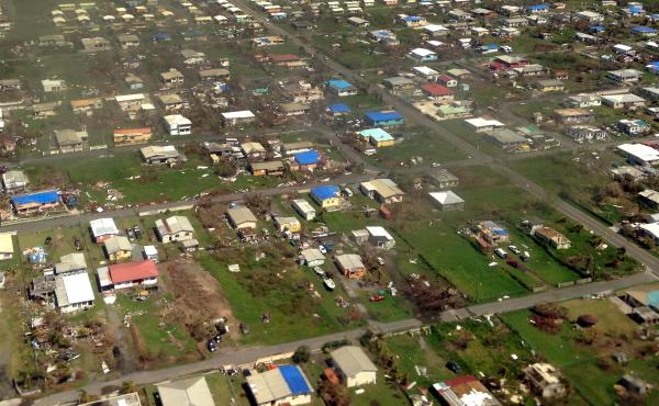 The Virgin Islands is home to more than 106,000 Americans. More than 33,000 people, which is over a third of the U.S. territory's population, are still awaiting help from FEMA.