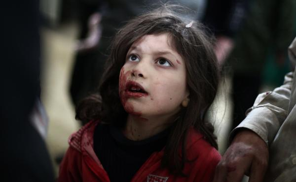 Citing violence and a refugee crisis in Syria and elsewhere, Amnesty International says international groups haven't done enough to help. Earlier this month, an injured Syrian girl was treated at a makeshift clinic, after government air strikes on a rebel