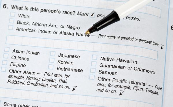 "If the White House approves a proposal to change how the government collects race and ethnicity data, white people in the U.S. may be asked to check off boxes about their ethnic background. But on this 2010 Census form, answering ""white"" was enough to res"