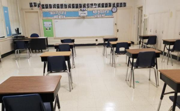 An elementary classroom in Guilford County Schools. KERI BROWN/WFDD