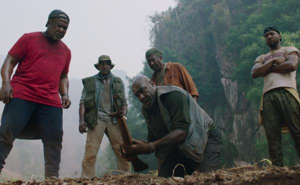 NPR's Scott Simon recommends Da 5 Bloods as one film to watch this Memorial Day.