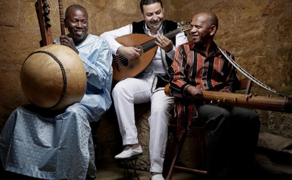Ballaké Sissoko, Driss El Maloumi and Rajery are masters of three different stringed instruments from three different African cultures. Together, they are a trio called 3MA.