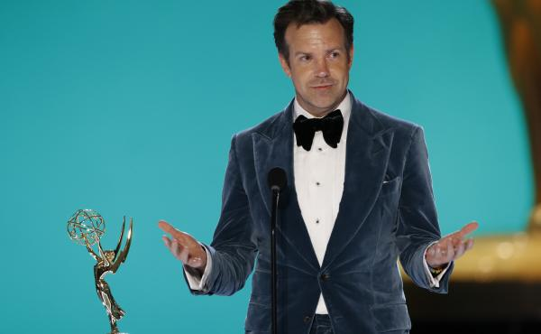 Jason Sudeikis of Ted Lasso had a good night on Sunday, winning for both his lead performance and the show overall.