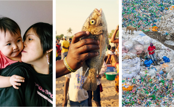 Photo highlights from our top stories: Inuit parenting teaches kids how to control anger; a fisherman holds up a fish caught in Lake Malawi, where transactional sex is part of the fish trade; the Dandora Landfill in Nairobi, Kenya.