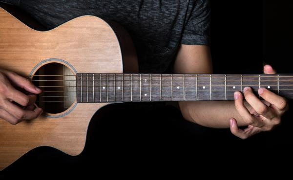 A lot factors come into play in creating a guitar's sound.There's size and shape of the instrument and its parts. Then, there's the skill and the approach of the musician to consider.