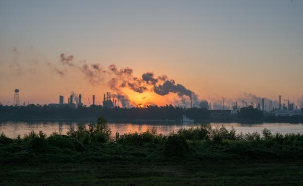 "A stretch of the Mississippi River from New Orleans to Baton Rouge, La., that is crowded with chemical plants has been called ""Cancer Alley"" because of the health problems there."