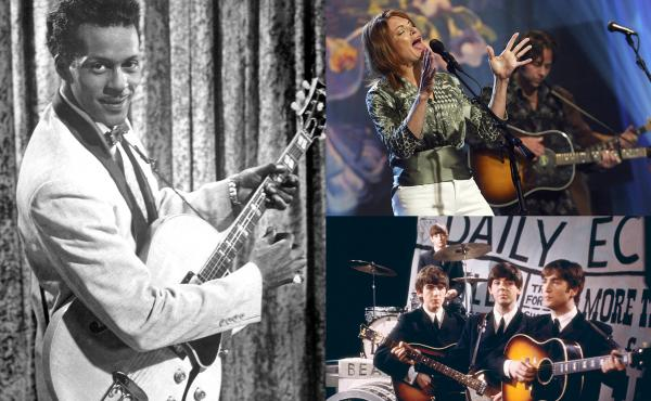 Chuck Berry, Rosanne Cash and The Beatles all performed memorable songs about rock's definitive instrument.