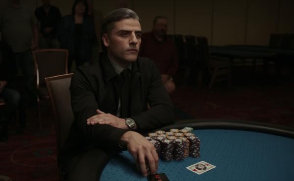 Oscar Isaac plays a former military interrogator who is haunted by the past in Paul Schrader's The Card Counter.
