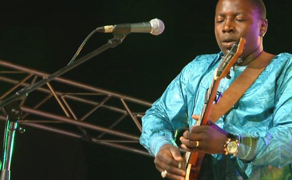 Malian guitarist Vieux Farka Touré.