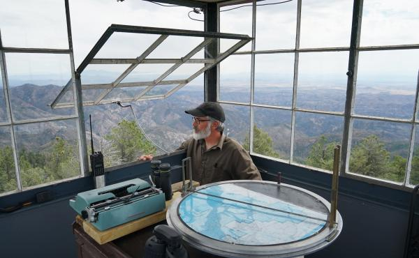 Philip Connors has spent 17 summers as a fire lookout in the Gila National Forest. Lookouts are the eyes in the forest, even as the forests they watch have changed, shaped by developers, shifting land management policies and climate change.