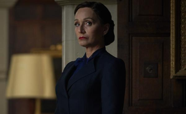 Mrs. Danvers (Kristin Scott Thomas) is forbidding, foreboding and fierce — easily the best thing about Netflix's Rebecca remake.