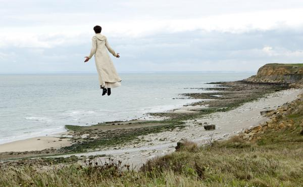 Isabelle (Valeria Bruni Tedeschi) takes in (and takes to) the sea air in Slack Bay.