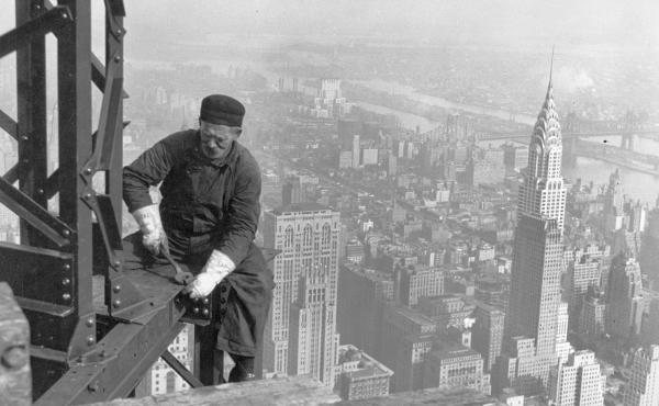 Empire State Building in 1930.